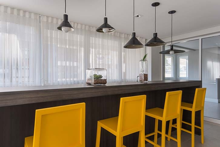 Augusta Hype Living | Apartamentos à venda na Consolação | Pronto | Foto do Lounge Bar